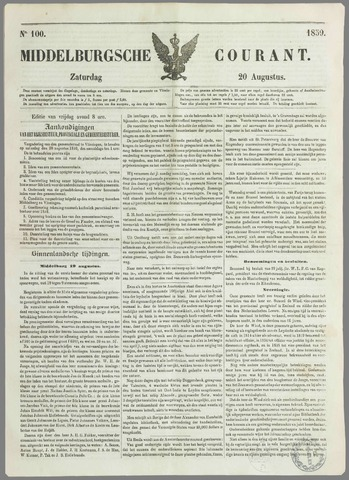 Middelburgsche Courant 1859-08-20