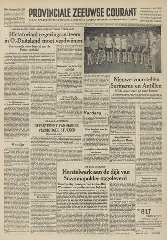 Provinciale Zeeuwse Courant 1953-07-01