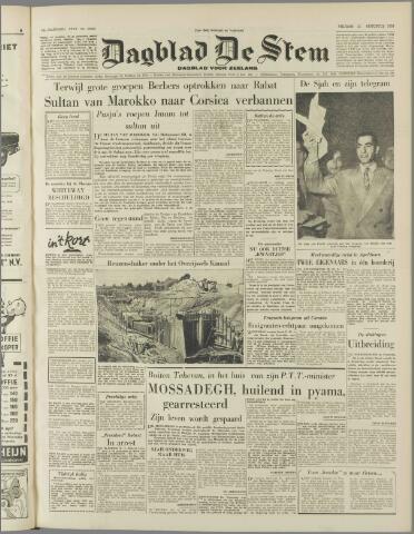 de Stem 1953-08-21