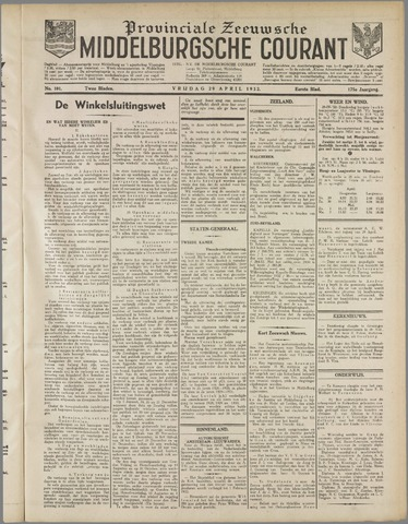 Middelburgsche Courant 1932-04-29