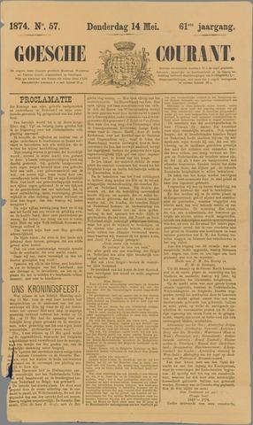 Goessche Courant 1874-05-14