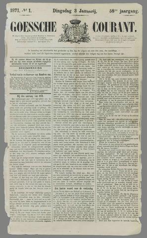 Goessche Courant 1871