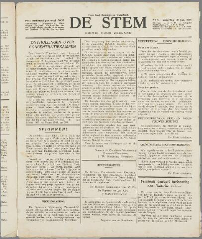 de Stem 1945-01-27