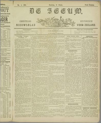 De Zeeuw. Christelijk-historisch nieuwsblad voor Zeeland 1895-10-10