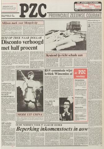 Provinciale Zeeuwse Courant 1985-02-01