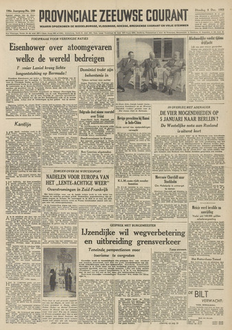 Provinciale Zeeuwse Courant 1953-12-08