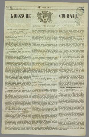 Goessche Courant 1856-08-21