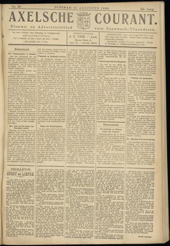 Axelsche Courant 1936-08-25
