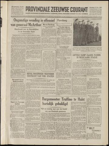 Provinciale Zeeuwse Courant 1950-11-27