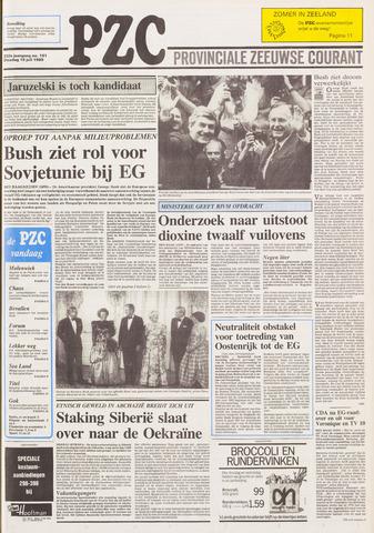 Provinciale Zeeuwse Courant 1989-07-18