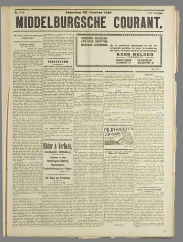 Middelburgsche Courant 1927-10-22
