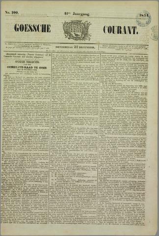 Goessche Courant 1854-12-21