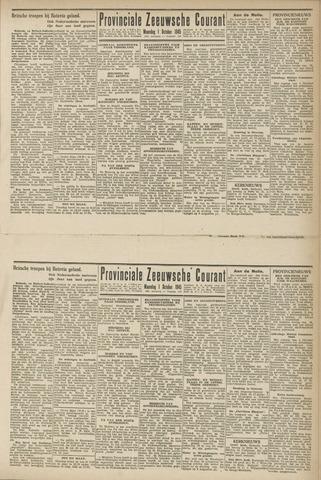 Provinciale Zeeuwse Courant 1945-10-01