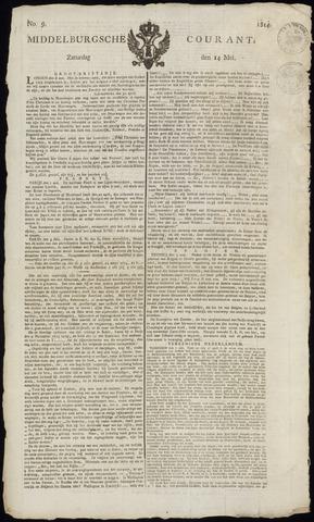 Middelburgsche Courant 1814-05-14