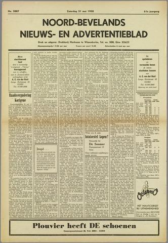 Noord-Bevelands Nieuws- en advertentieblad 1958-05-31