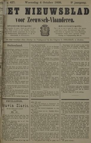 Nieuwsblad voor Zeeuwsch-Vlaanderen 1899-10-04