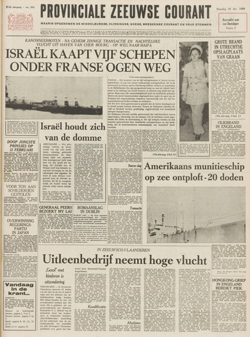 Provinciale Zeeuwse Courant 1969-12-29