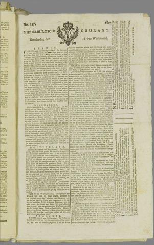 Middelburgsche Courant 1809-10-12