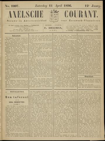 Axelsche Courant 1896-04-11