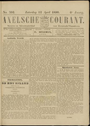 Axelsche Courant 1890-04-12