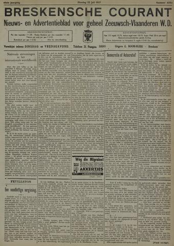 Breskensche Courant 1937-07-20