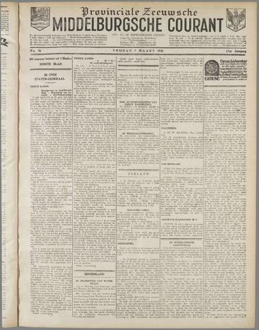 Middelburgsche Courant 1930-03-07