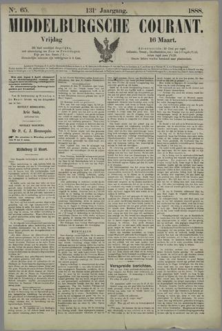 Middelburgsche Courant 1888-03-16