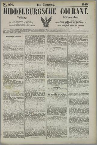 Middelburgsche Courant 1888-11-09