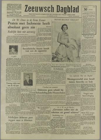 Zeeuwsch Dagblad 1958-01-30