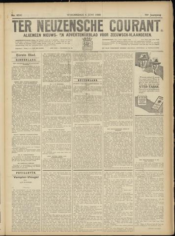 Ter Neuzensche Courant. Algemeen Nieuws- en Advertentieblad voor Zeeuwsch-Vlaanderen / Neuzensche Courant ... (idem) / (Algemeen) nieuws en advertentieblad voor Zeeuwsch-Vlaanderen 1930-06-04