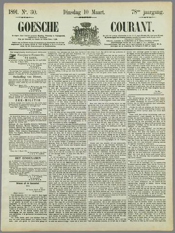 Goessche Courant 1891-03-10