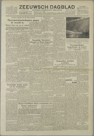 Zeeuwsch Dagblad 1951