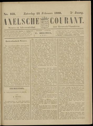 Axelsche Courant 1888-02-11