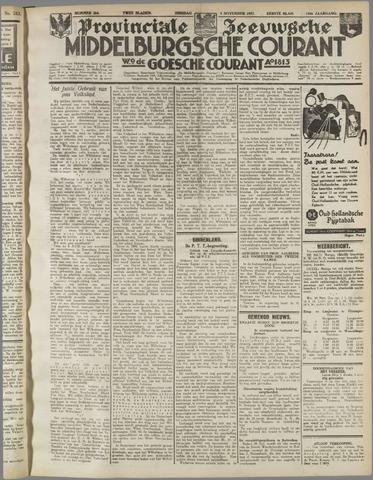 Middelburgsche Courant 1937-11-09