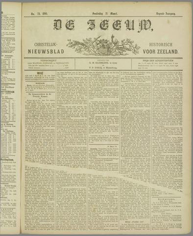 De Zeeuw. Christelijk-historisch nieuwsblad voor Zeeland 1895-03-21