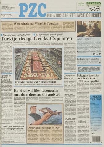 Provinciale Zeeuwse Courant 1996-08-16