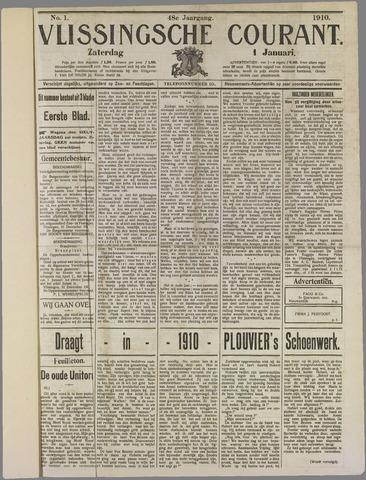 Vlissingse Courant 1910