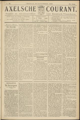 Axelsche Courant 1933-11-10