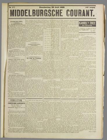 Middelburgsche Courant 1925-07-30