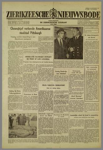 Zierikzeesche Nieuwsbode 1959-09-25
