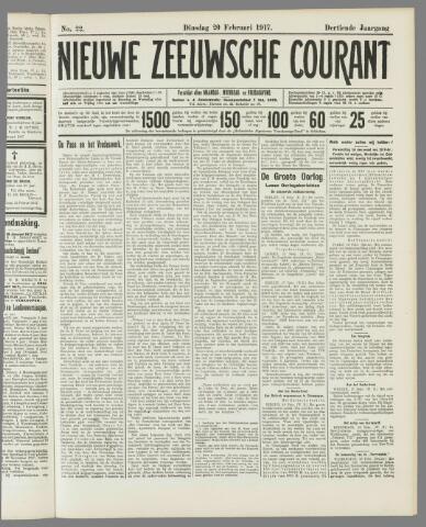 Nieuwe Zeeuwsche Courant 1917-02-20