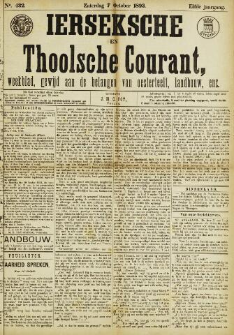 Ierseksche en Thoolsche Courant 1893-10-07