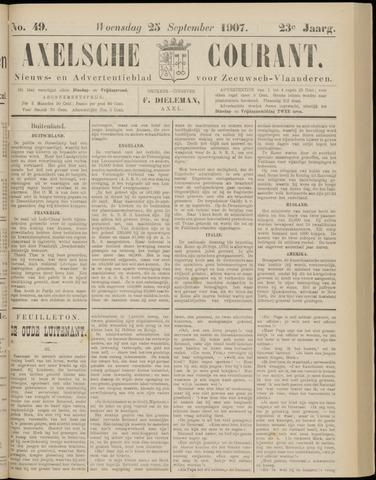 Axelsche Courant 1907-09-25