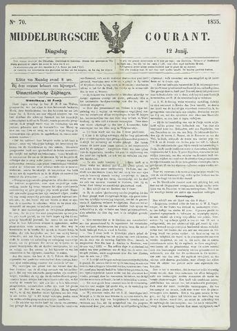 Middelburgsche Courant 1855-06-12