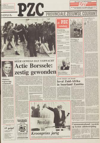 Provinciale Zeeuwse Courant 1987-04-27
