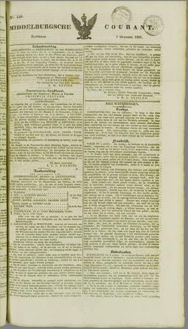 Middelburgsche Courant 1837-10-07