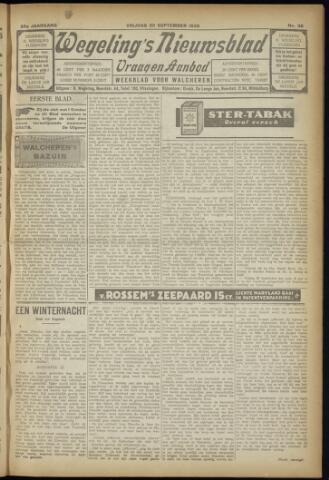 Zeeuwsch Nieuwsblad/Wegeling's Nieuwsblad 1929-09-20