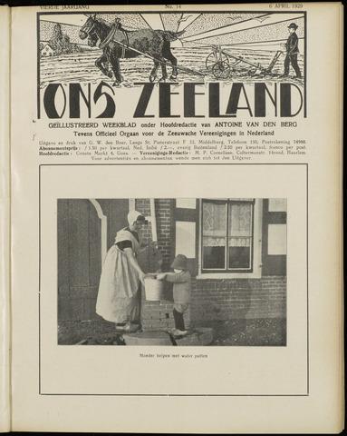 Ons Zeeland / Zeeuwsche editie 1929-04-06