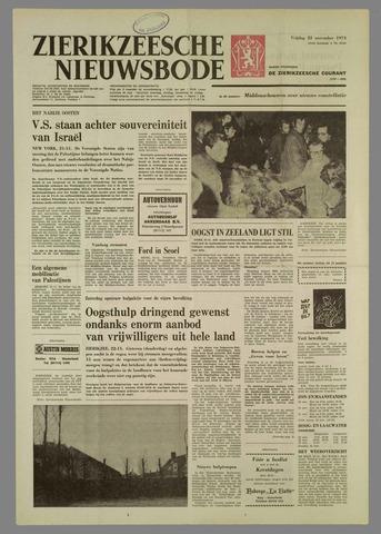 Zierikzeesche Nieuwsbode 1974-11-22