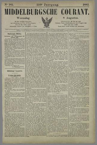 Middelburgsche Courant 1883-08-08
